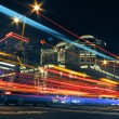 Colorful city night — Stock Photo