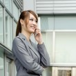 Smiling business manager woman — Stock Photo