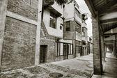 Old street — Stock Photo
