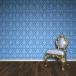 Baroque room — Stockfoto