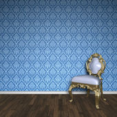Baroque room — Stock Photo