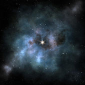 Stars nebula — Stock Photo