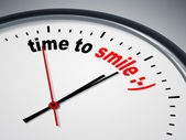 Time to smile — Foto Stock