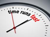 Tiempo corre rápido — Foto de Stock