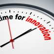 Time for innovation — Stock Photo