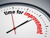 Tempo per il miglioramento — Foto Stock