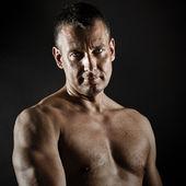 Mężczyzna w średnim wieku — Zdjęcie stockowe