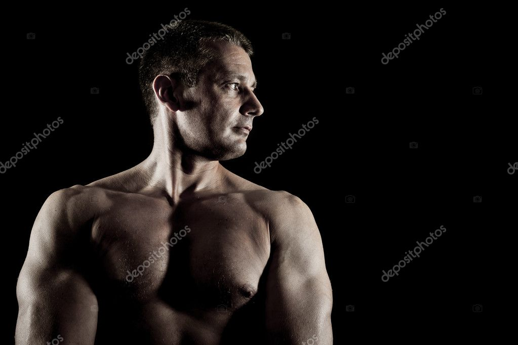An image of a nice strong man — Stock Photo #5906966
