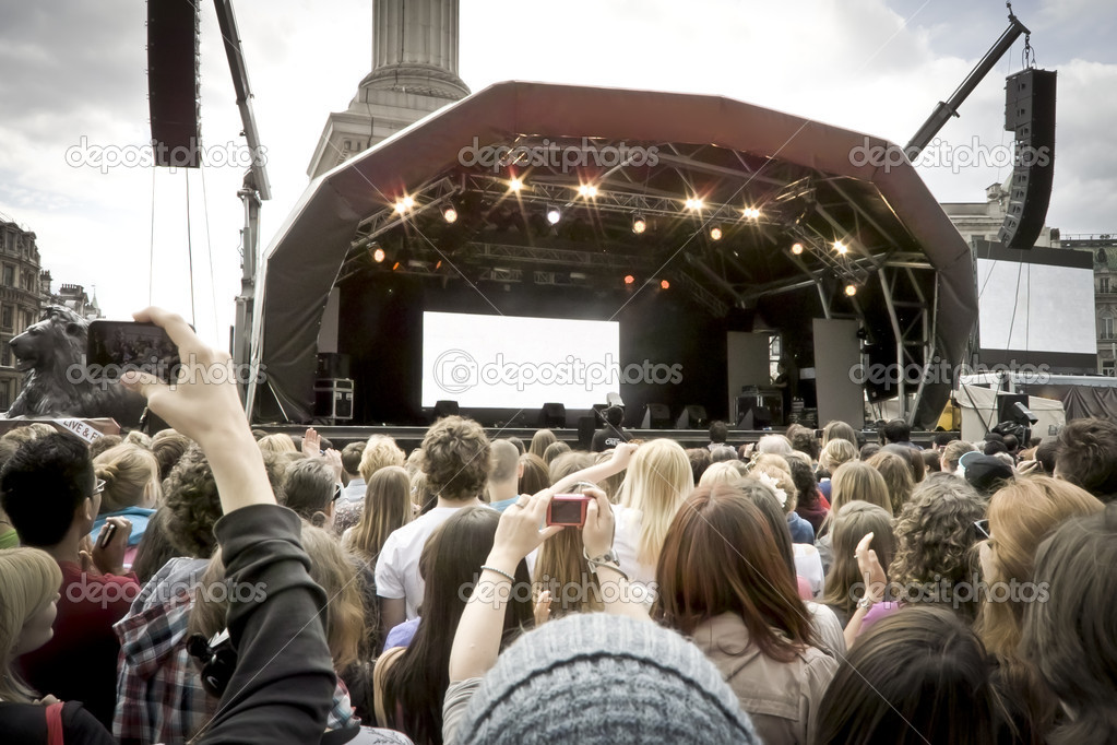 An image of an open air festival — Stock Photo #5915333