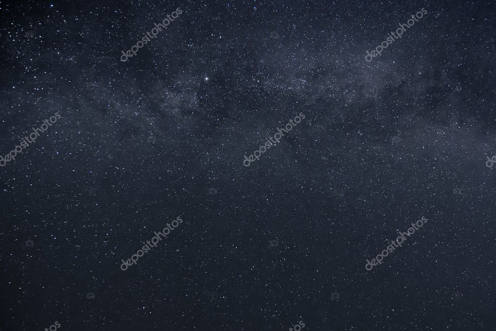 An image of a milky way stars background  Stock Photo #5973201