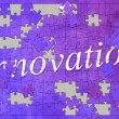 Innovation-puzzle — Stockfoto