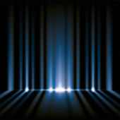 Blue lights background — Stockfoto