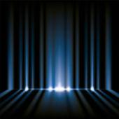 青色のライトの背景 — ストック写真