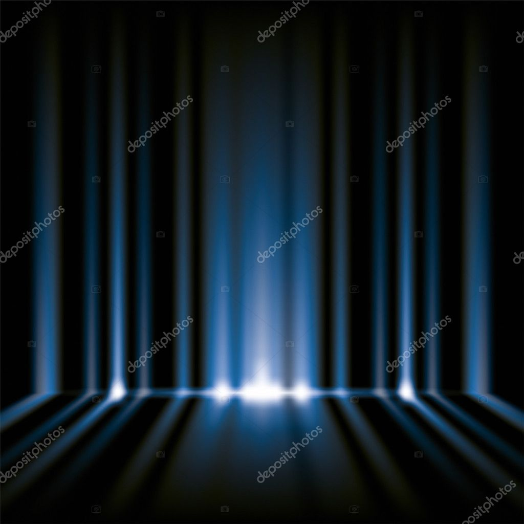 An image of a nice blue lights background — 图库照片 #6038998