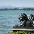 Lions at lake Starnberg — Stock fotografie
