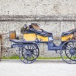Stock Photo: Horse drawn carriage