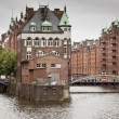 Wasserschloss Hamburg — Stock Photo