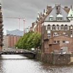 Wasserschloss Hamburg — Stock Photo