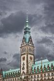 Hamburg city hall — Stock Photo