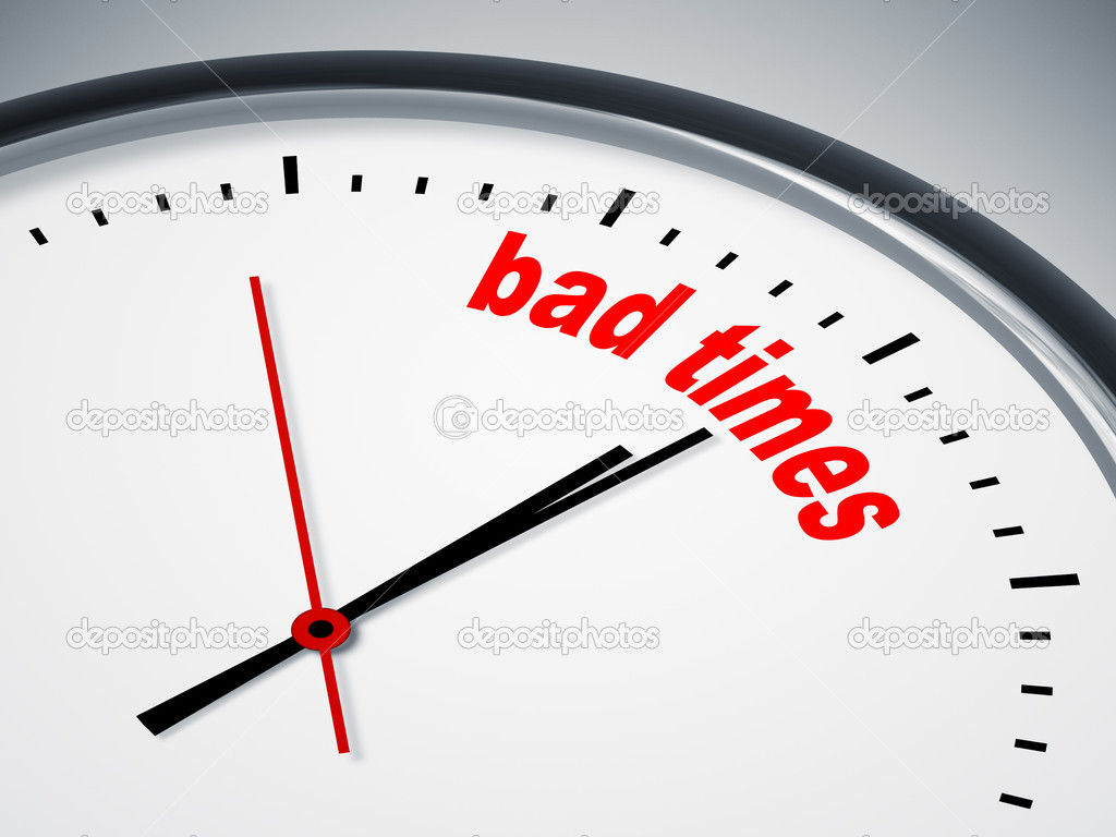 An image of a nice clock with bad times — Stock Photo #6278363