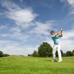 Игрок в гольф — Стоковое фото