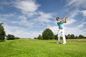 高尔夫玩家 — 图库照片