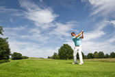 Giocatore di golf — Foto Stock