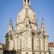 Frauenkirche Dresden - Stock Photo
