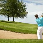 Golf player — Stock Photo #6573539