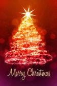Röd jul — Stockfoto