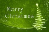 зеленый рождество — Стоковое фото
