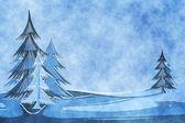 Blue christmas — Stock Photo