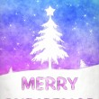 Blue pink christmas — Stock Photo