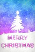 Blue pink christmas — Stock Photo