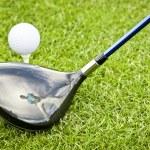 Golf player — Stock Photo