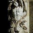 Satyr statue Dresden — Stock Photo