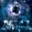 Royalty-Free Stock Photo: Retro universe