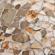Natural stone wall - Stockfoto