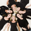 Group of Young Women — Stock Photo