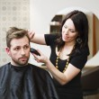 Hair Salon situation - Stockfoto