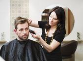 Hair Salon situation — Стоковое фото