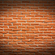Terra cotta brick wall background — Stock Photo