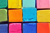 Colorful oil pastels — Stock Photo