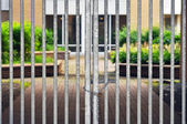 Gated residential community — Stock Photo