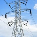 High voltage powerline — Stock Photo #6347483