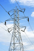 Hoogspanning powerline — Stockfoto