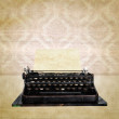 Stock Photo: Vintage typewriter