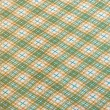 Retro plaid cloth — Stock Photo