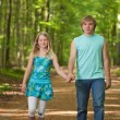 Children walking together — Stock Photo #5610711