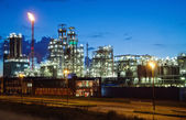 Industrielle twilight — Stockfoto